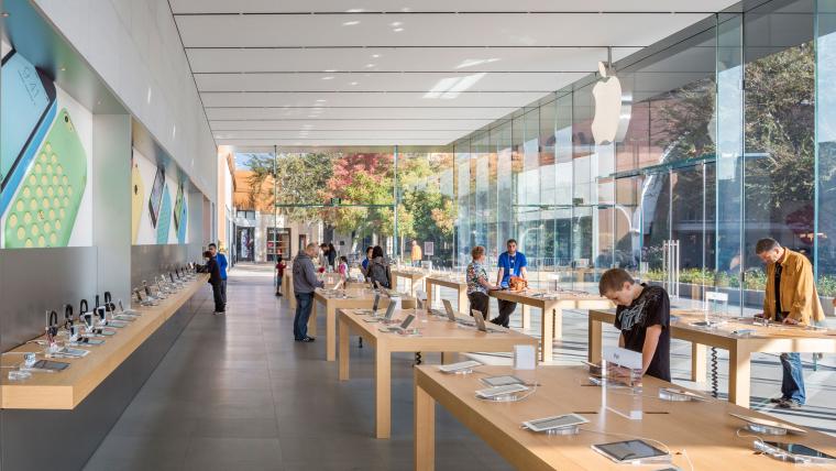 [美国]加州斯坦福苹果店JPG平面图+高清官方摄影 12P