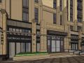 [甘肃]保利兰州新古典高层+沿街商业建筑模型设计