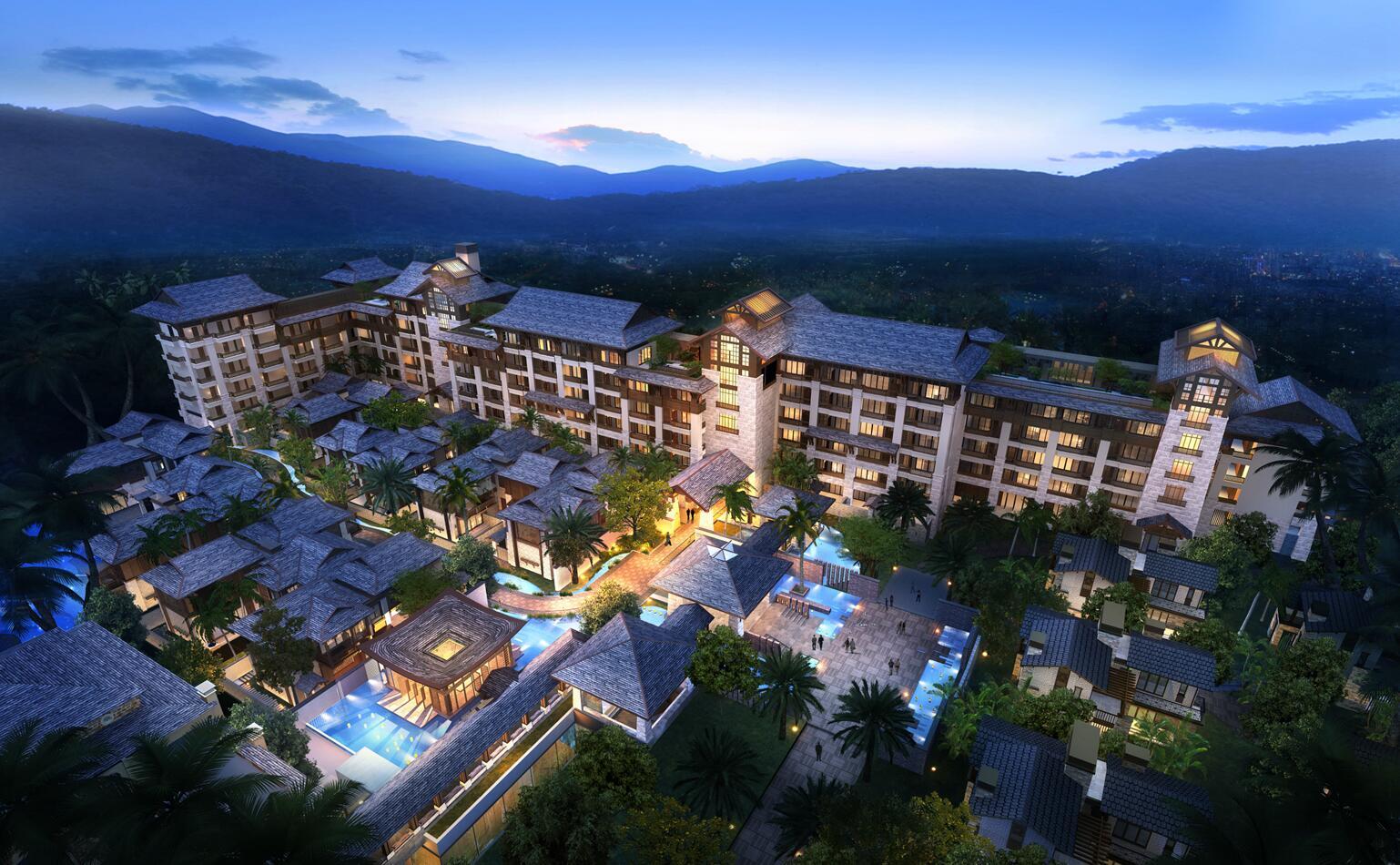 [廣東]廣州保利龍門酒店建筑模型設計