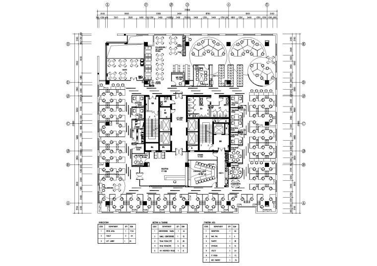 [四川]戴尔成都旗舰店办公室CAD施工图