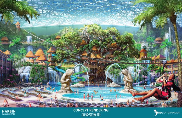[哈尔滨]ITECEntertainment-哈尔滨天堂乐园设计意向237P