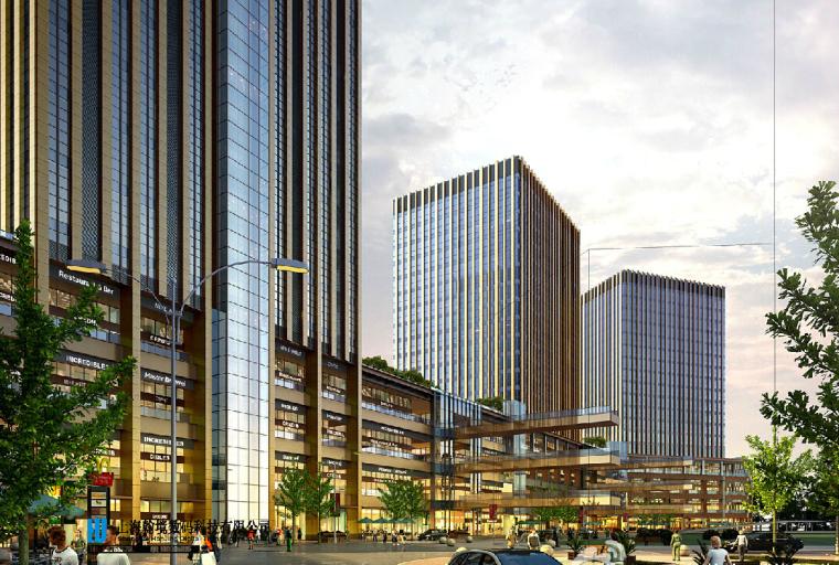 [重庆]重庆大坪龙湖时代天街一期建筑模型设计