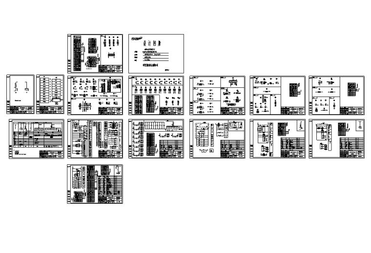 1.6MW光伏发电项目全套施工图纸