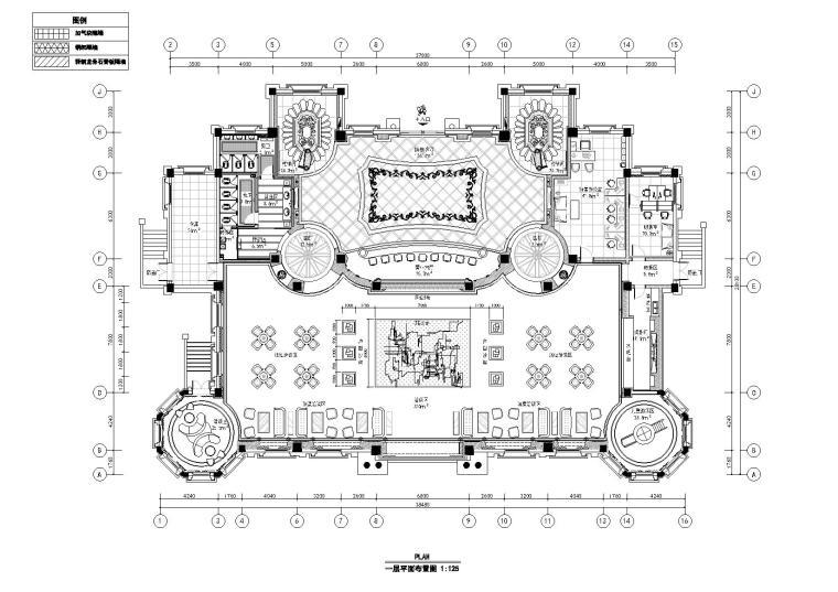 [河南]励时-瀚宇新城售楼部装饰工程施工图