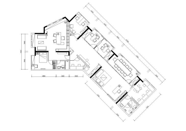 竣工图 项目位置:广东 设计风格:现代风格 图纸格式:jpg,天正7,cad