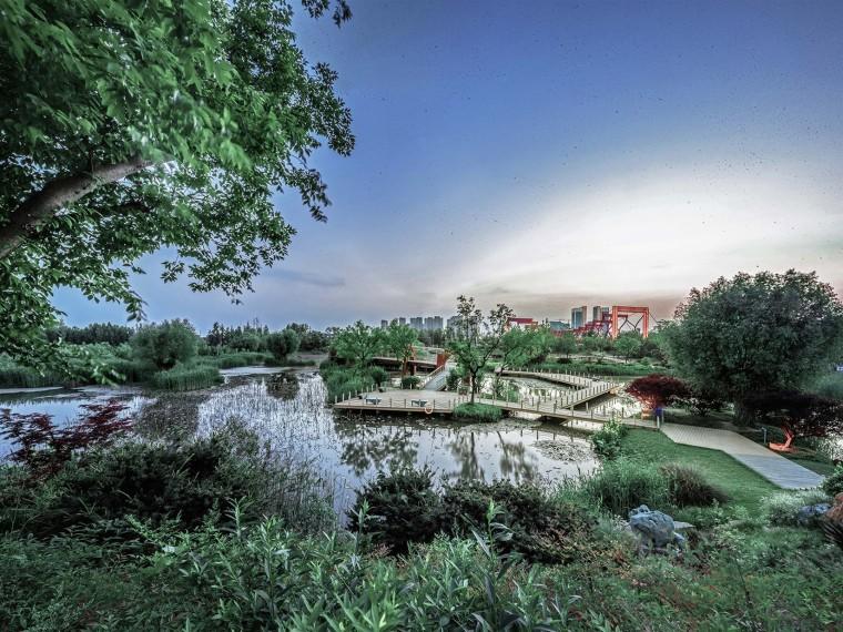 扬州三湾生态中心