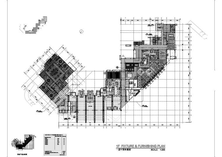 [三亚]豪华之最国际连锁品牌新中式五星级商务度假酒店装修施工图(含效果)