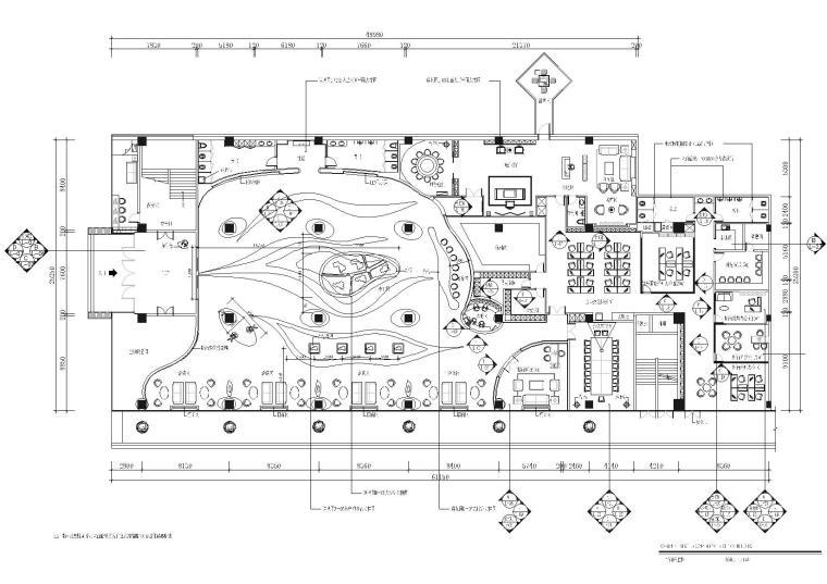 [福建]海山-福清裕荣汇售楼中心CAD全套施工图