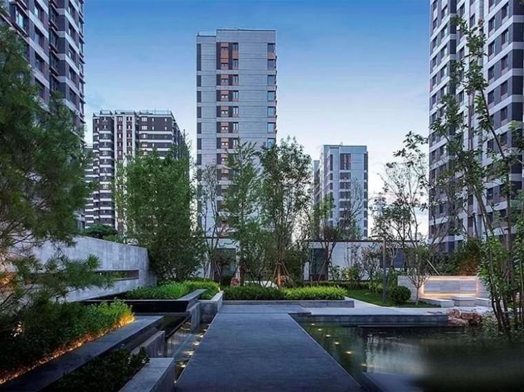 北京金隅西山甲一号住宅景观