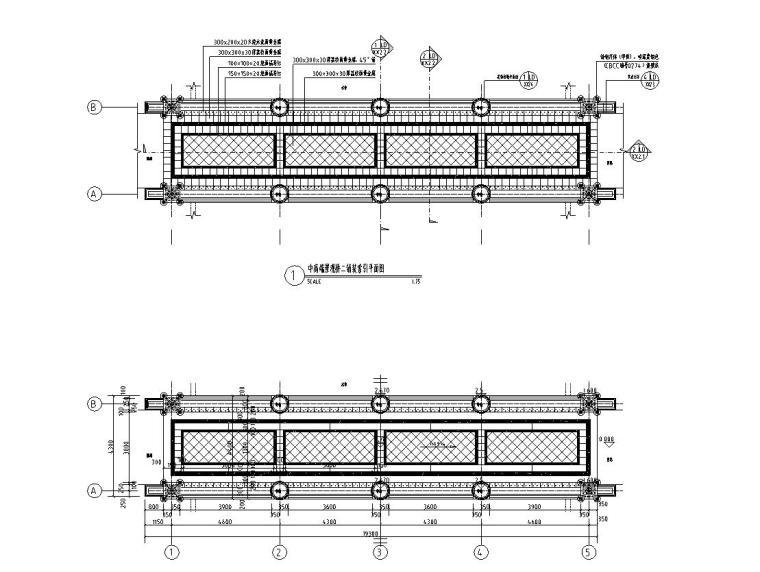景观细部施工图|高端园桥施工图设计