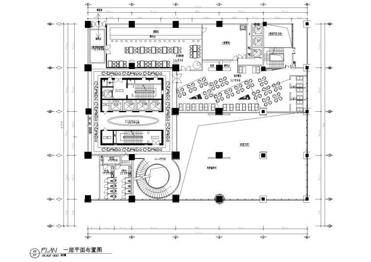 [贵州]富康国际酒店全套施工图+物料书+效果