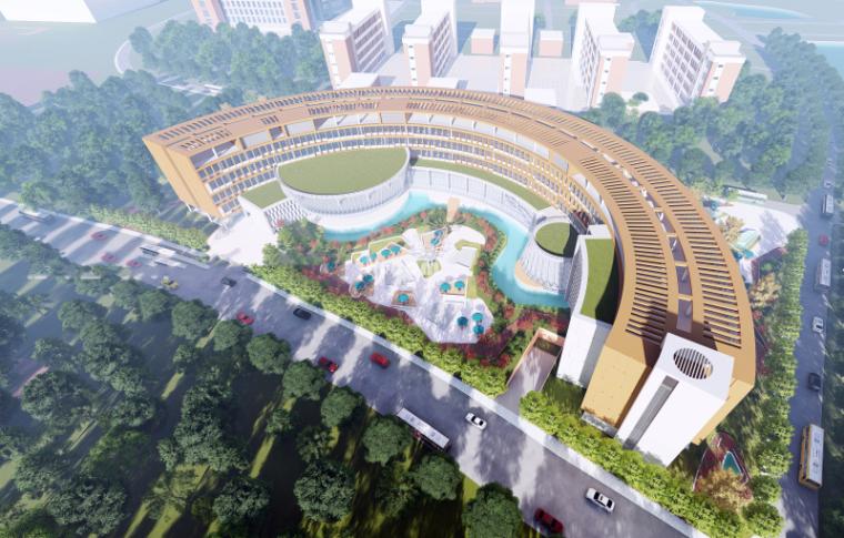 中山大学MBA中心大楼项目方案设计