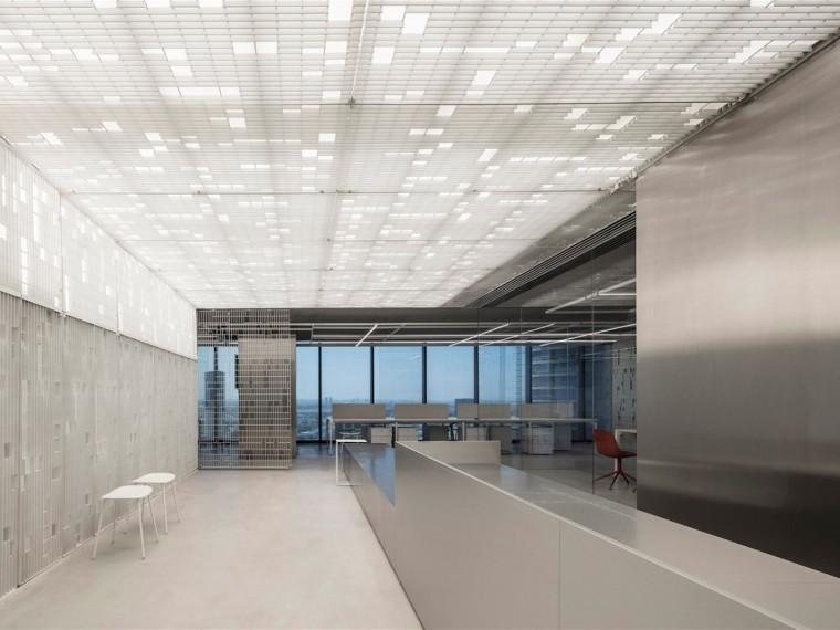 特拉维夫几何工业办公空间