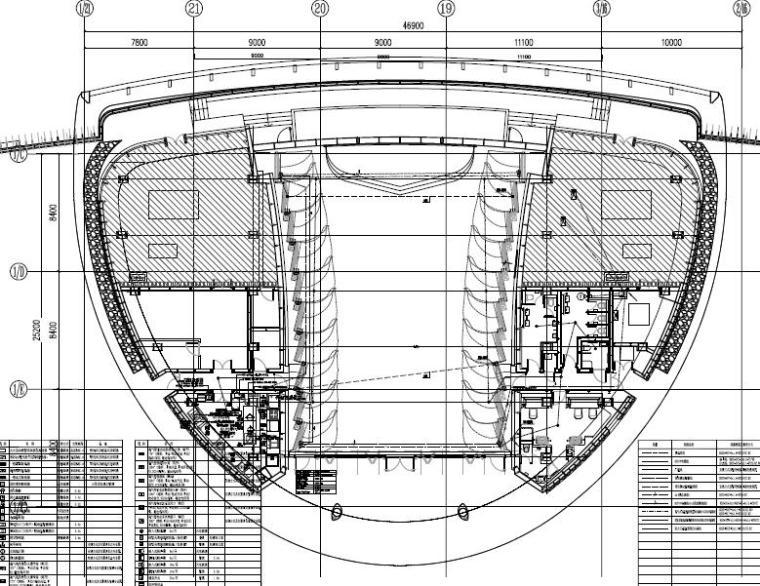 广东珠海大型文化产业用房及配套商业办公机电装饰装修施工图