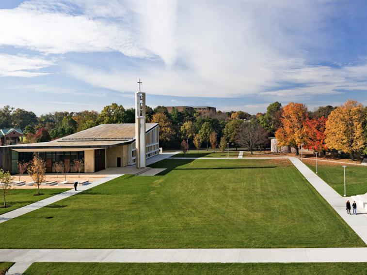 美国圣心大学校园景观