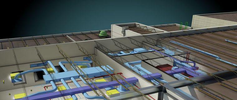 欧特克revit资料下载-如何通过Revit为风管系统的管网进行大小的调整?