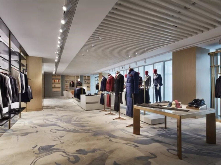 现代简约木质的商业空间