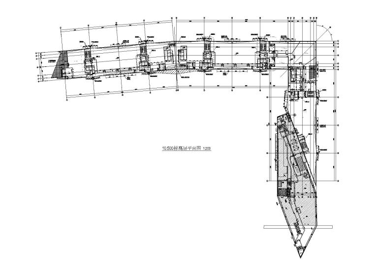 4层钢框架结构展览中心建筑结构施工图