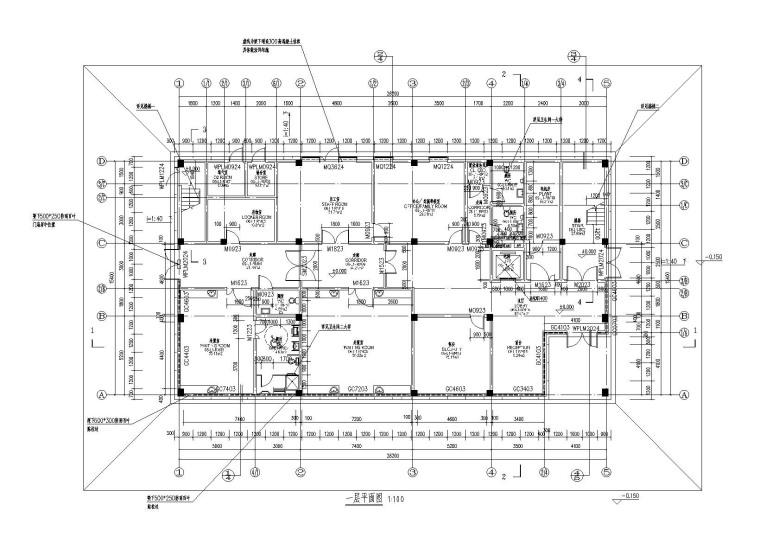 [绍兴]2层框架结构比赛急救楼建筑结构图