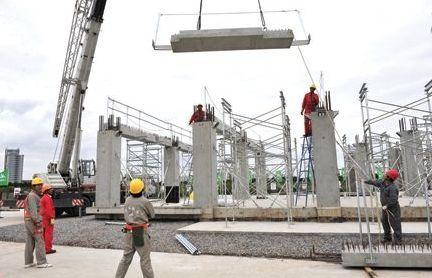 全装配框架结构体系一体化建造技术研究