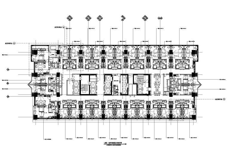 [成都]华城建筑-大鼎世纪广场戴斯酒店全套施工图+物料书