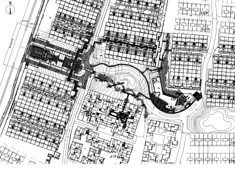 [重庆]万科渝园居住区景观全套CAD施工图
