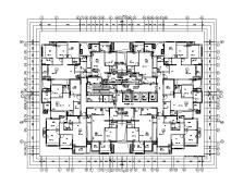 重庆万科住宅区暖通设计施工图
