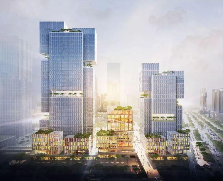 竖向构成|gmp赢得中国天音大厦竞赛