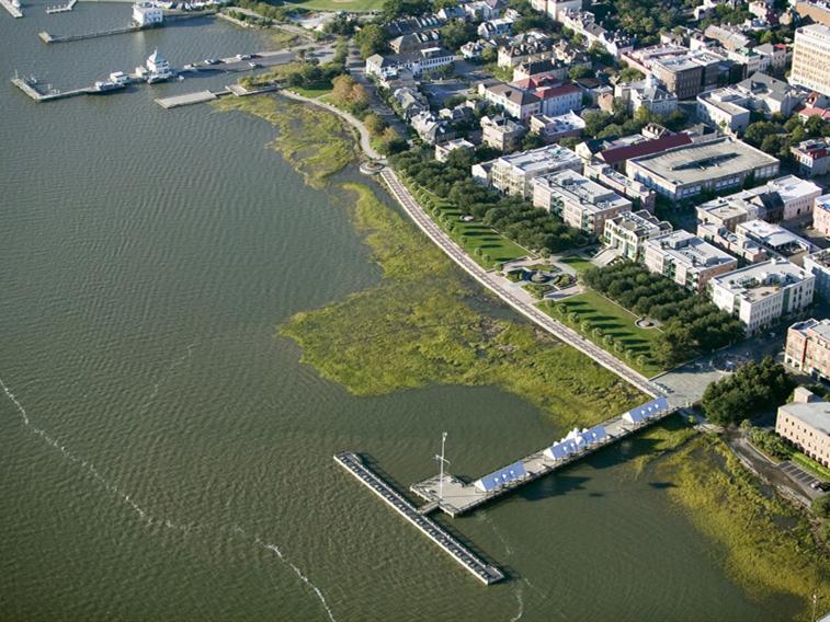 美国查尔斯顿滨水区