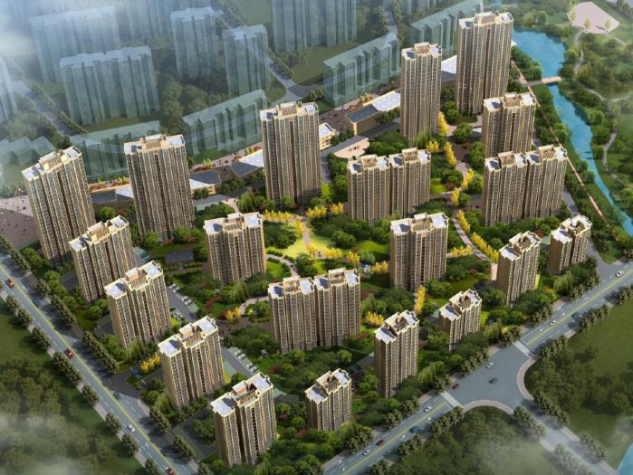 [安徽]庐江县磙桥安置房三期规划建筑方案文本