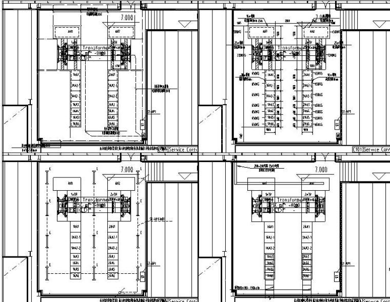 湖北生猪屠宰及食品加工工厂电气施工图