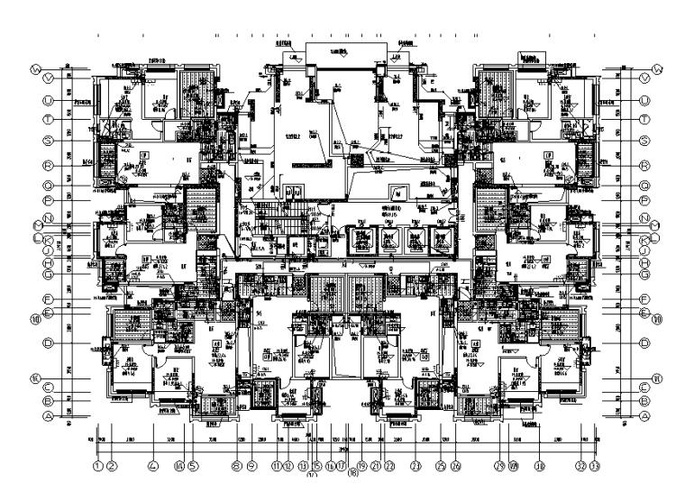 重庆万科住宅区给排水设计施工图