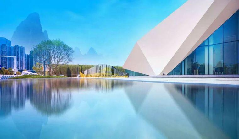 白鹭点点,群山叠翠:桂林·万达大都会滨江示范区
