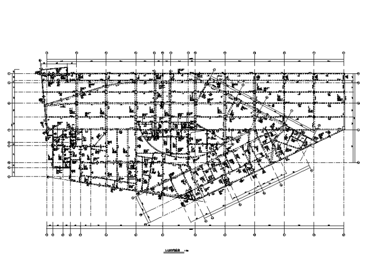 转换层复杂高层结构迎宾中心建筑结构施工图(2015)