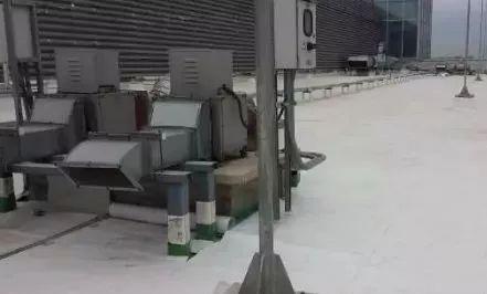 高分子交叉膜防水卷材及TPO防水卷材在屋面维修工程中的应用_5