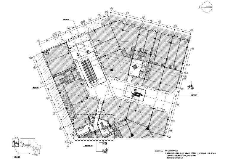 [安徽]清尚设计院-合肥包河万达广场步行街公共空间室内装修工程