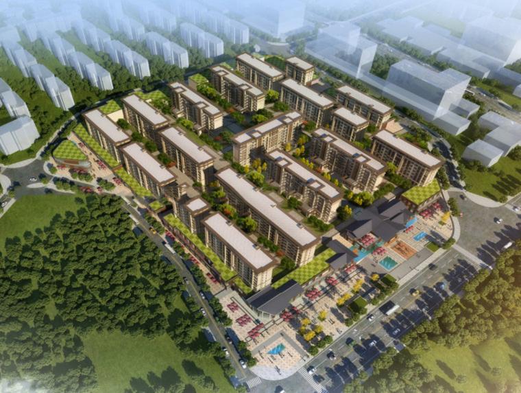 [重庆]新亚洲风格售楼处商业洋房建筑模型设计
