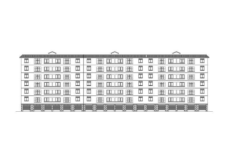 120平错层住宅建筑设计施工图(含效果图)