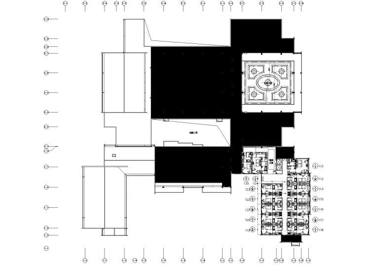 [安徽]滨江港口城市顶级五星级园林式酒店室内装修施工图