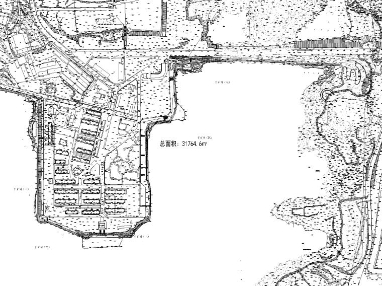 [广西]云南宁湖公园改造景观全套施工图(含水电施工图,植物表)