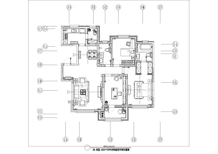 [长春]交通便利配套设施成熟小区现代风格两居室装修图