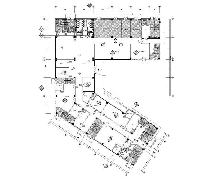 [广东]广州知识城南方医院公区全套CAD施工图+设计方案+效果图(含各专业图纸)