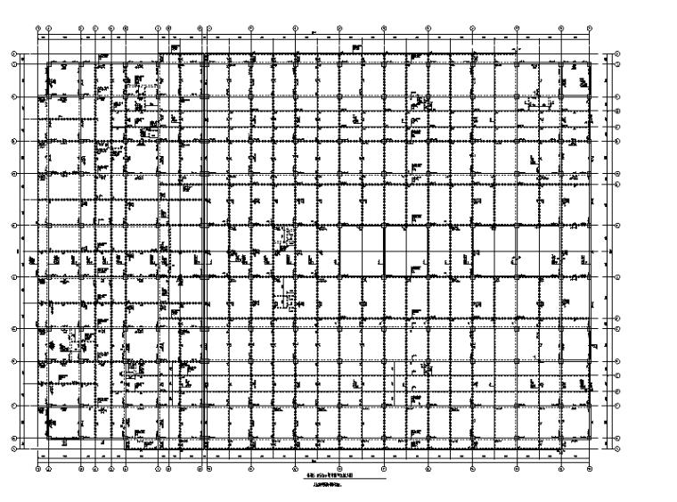6层框架结构员工宿舍楼建筑结构施工图2011