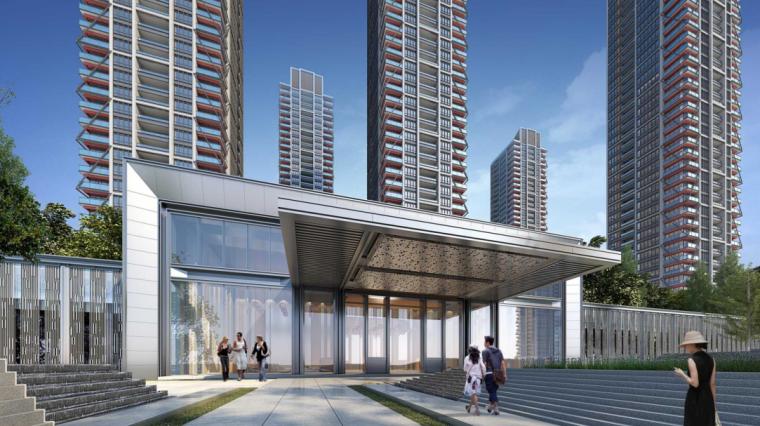 [四川]成都华润城现代风格建筑方案文本(日清设计|PDF+55页)