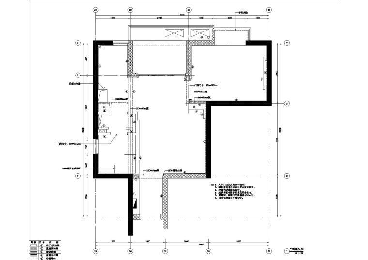 [郑州]超前时尚后现代一居室样板房装修图(含效果)