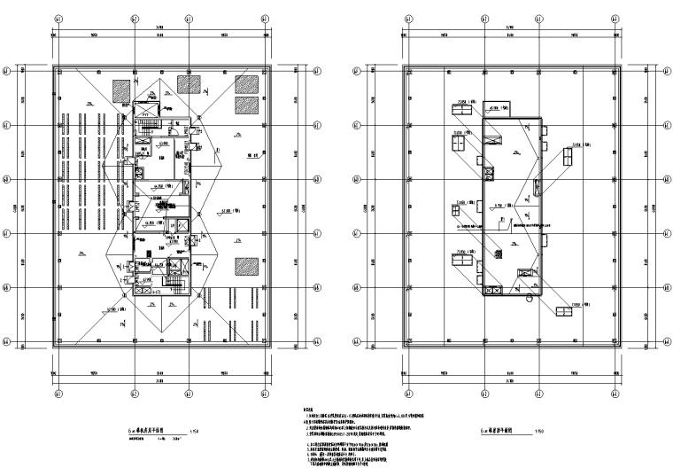 [知名院]北京石景山商务中心商业办公楼电气施工图