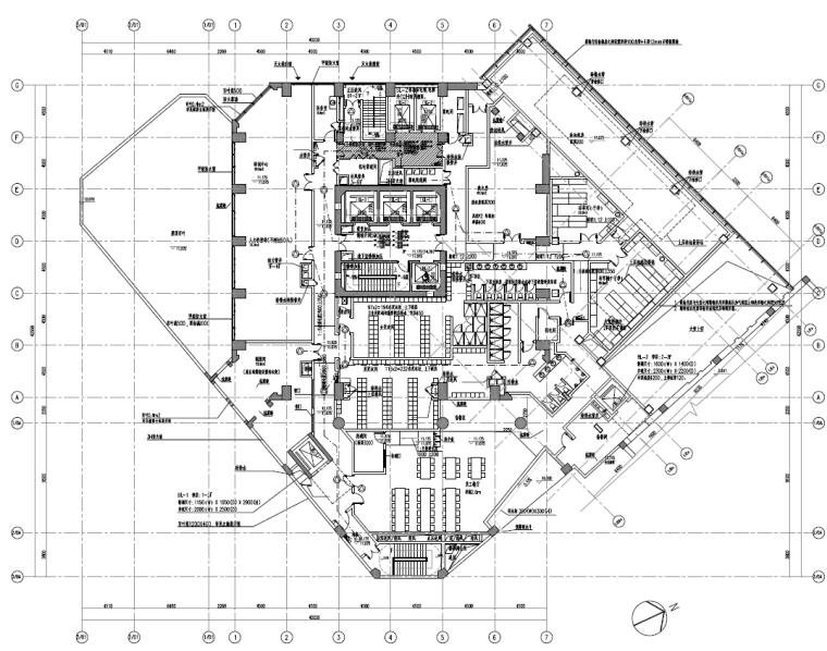 [知名院]上海五星级酒店改造工程电气施工图(强电+弱电)