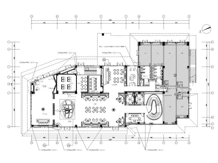 [广东]矩阵纵横Matrix-广州华润天合销售中心室内设计施工图+深化方案+效果图+官方摄影