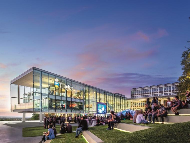 澳大利亚弗林德斯大学广场重建和学生中心