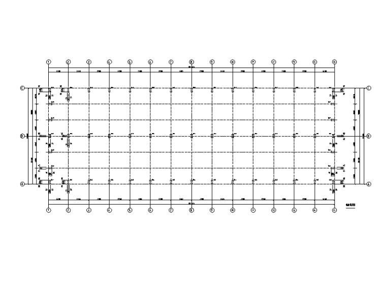 [河北]单层门式刚架结构工业厂房结构施工图